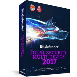 Bitdefender Total Security 3PC 1jaar